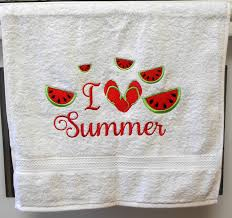 adelaidescorner watermelon embroidery designs summertime machine watermelon slice applique https www etsy com listing 398528713