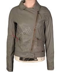 womens leather motorcycle jacket rosario dawson black zipper motorcyle leather jacket