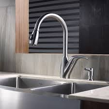 kitchen faucets stainless steel pull out kitchen faucet kraususa com