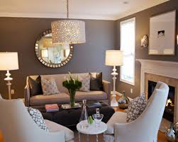 fanciful gray and brown living room all dining room
