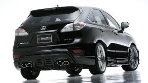 lexus rx 350 black wald rx350 450h sports line black bison edition for 2009 my