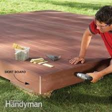 low deck designs how to building a deck on the ground building