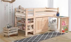 lit combin bureau enfant lit combiné enfant avec bureau vincent pin massif mobilier en pin