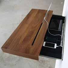 Diy Simple Wood Desk by Desks Versatile Simple Desk To Manage Your Gadget Cable Mess