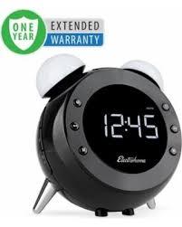clock radio with night light deals 36 off electrohome retro alarm clock radio motion