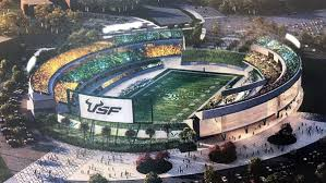 usf announces results of study about on cus stadium wfla