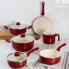 la cuisine conjunto de panelas la cuisine colors alumínio com revestimento