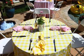 baby shower table settings simply june a surprise baby shower