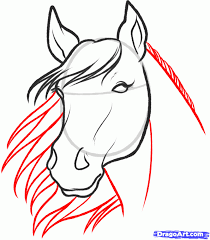 how to draw a running horse step by step drawing tutorials for
