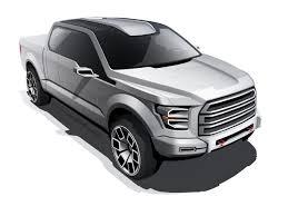 Ford F250 Concept Truck - ford atlas concept design sketch car design pinterest