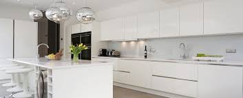 High Gloss Or Semi Gloss For Kitchen Cabinets High Gloss L Shape Blue Lacquer Finishing Kitchen Cabinet Vvc