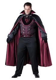 Super Deluxe Halloween Costumes Men U0027s Size Midnight Vampire Costume