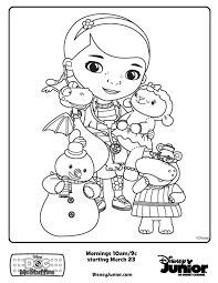 birthday boy coloring pages doc mcstuffins friends free printable coloring pages human