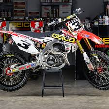 d u0027cor visuals honda geico complete kit available at motocrossgiant com