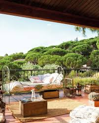 balcony garden design ideas courtyard water feature great accent