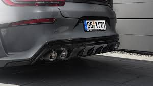 techart porsche panamera techart u0027s porsche panamera kit emphasizes