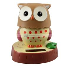 carsida 10cm 180degree owl baby tomy shape car bobblehead