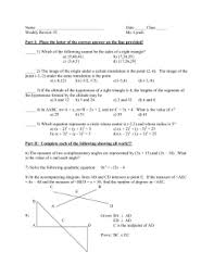 geometry tangent ratio worksheet