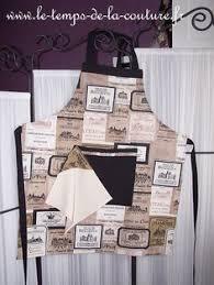 tablier de cuisine fait mp novelty tablier design emblématique de tabliers pour homme noir