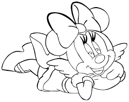 Mice Coloring Page Many Interesting Cliparts Minnie Mouse Free Coloring Pages