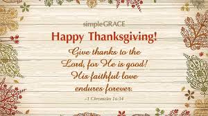 daily blessing happy thanksgiving simple grace
