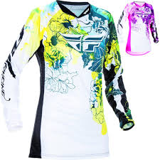 motocross gear for girls fly racing kinetic racewear youth girls motocross jersey
