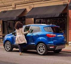 2018 ford ecosport compact suv compact features big