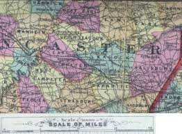 Road Map Of Pennsylvania by 1872 Map Of Lancaster County Pennsylvania