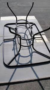 Replacement Glass For Patio Table Diy Replace Glass Tabletop With Tile For 15 Tabletop