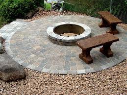 Build Backyard Fire Pit - unique ideas fire pit pavers tasty 1000 images about paver fire