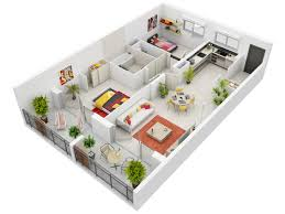 3d apartment floor plans stunning two bedroom apartment floor plans 3d photo decoration