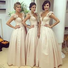 2018 arabic style vesitos sweetheart bridesmaid dresses poet cap