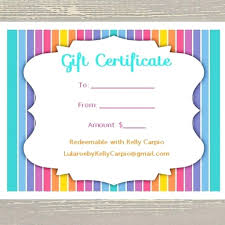 pages templates for gift certificate template template of gift certificate