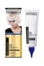 Dessange Paris California Blonde Brass Color Correcting Creme Reviews