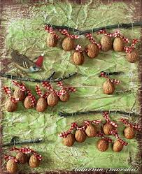 121 best acorn and walnut shell crafts images on