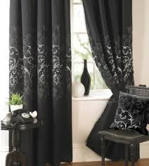 Black Gray Curtains 4 Kinds Of Black Window Curtains