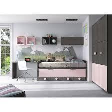 lit chambre enfant enfant compacte lit gigogne glicerio f054