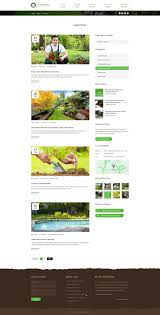 Garden Layout Template by Landscaping Landscape Snow Removal U0026 Construction Psd Template