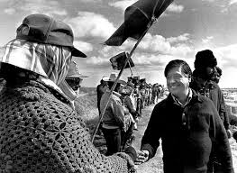 cesar chavez two versions of cesar chavez come to light in new film book latimes