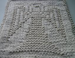 free free christian themed knit dishcloth patterns patterns