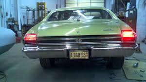 68 chevelle tail lights digi tails l e d tail lights on 69 chevelle ss youtube