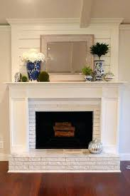refacing brick fireplace images ideas pictures refinishing modern