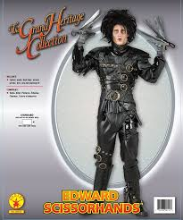 halloween jacket amazon com edward scissorhands costume black standard clothing