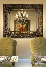 decorative mirrors for dining room walls wall mirror design for