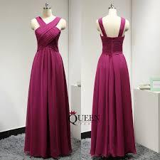 burgundy chiffon cross halter long bridesmaid dresses full length