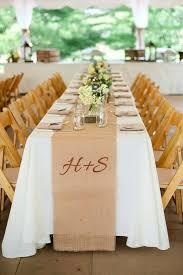 burlap table decorations for weddings burlap table decorations for