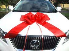 large gift bow large gift bow big ribbon string suction cup wrap car appliance