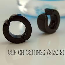clip on earrings for men mens clip on earrings ear cuff and clip on earrings for ear