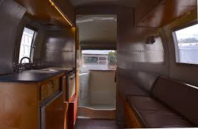 kitchen classic airstream trailers under cabinet range hood wood
