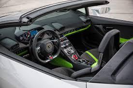 Lamborghini Huracan Green - 2016 lamborghini huracan spyder review automobile magazine